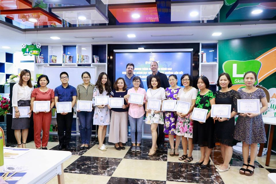 Atlantic Five-Star English - IELTS teachers for IELTS courses in Hanoi -August to December 2020